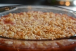 Coconut-Rhubarb Brown Betty