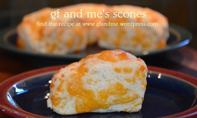 gluten free scones by gf and me.