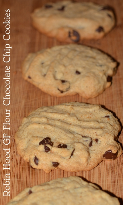 chocolate chip cookies. gf and me 2013.