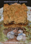 gluten free matrimonial squares