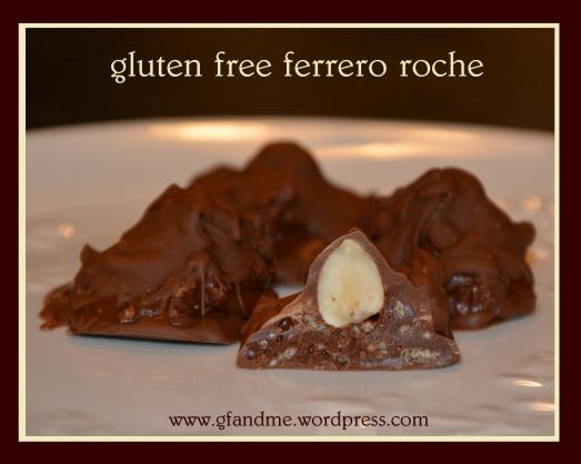 gluten free ferrero roche. gf and me