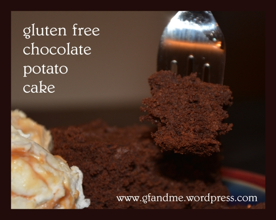 gluten free chocolate potato cake