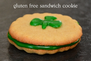 gluten free sandwich cookie